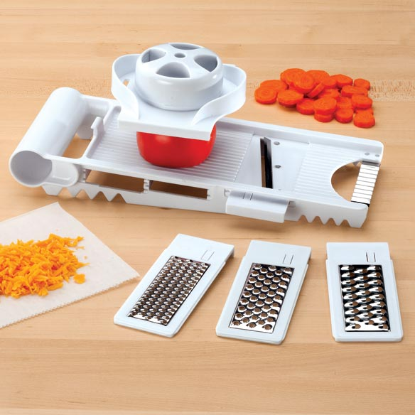 5-In-1 Mandolin Slicer & Grater - View 1