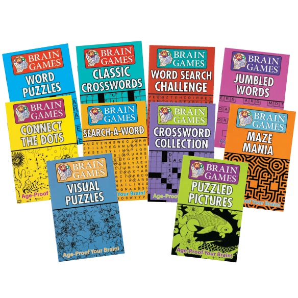 Brain Games - Set of 10 - View 1