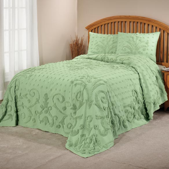 The Elizabeth Chenille Bedding - View 1