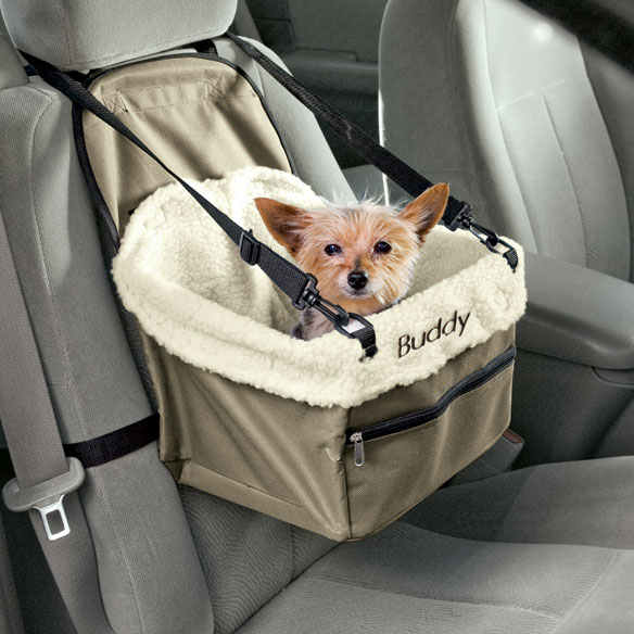 Personalized Pet Car Booster Seat - View 1
