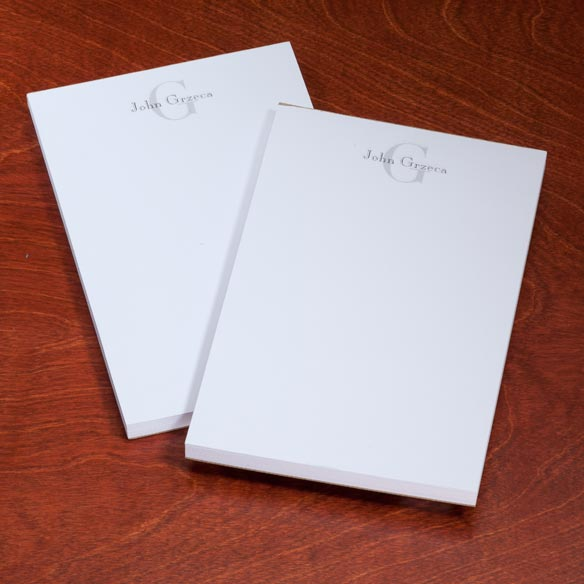 Personalized Block Notepads, Set of 2