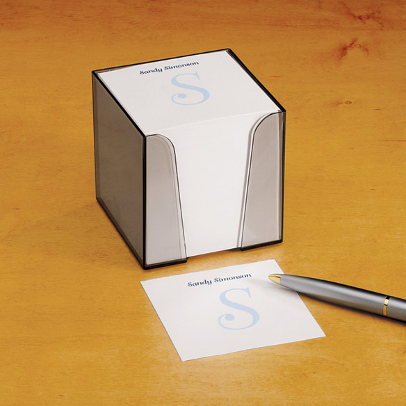 Personalized Note Sheets with Cube