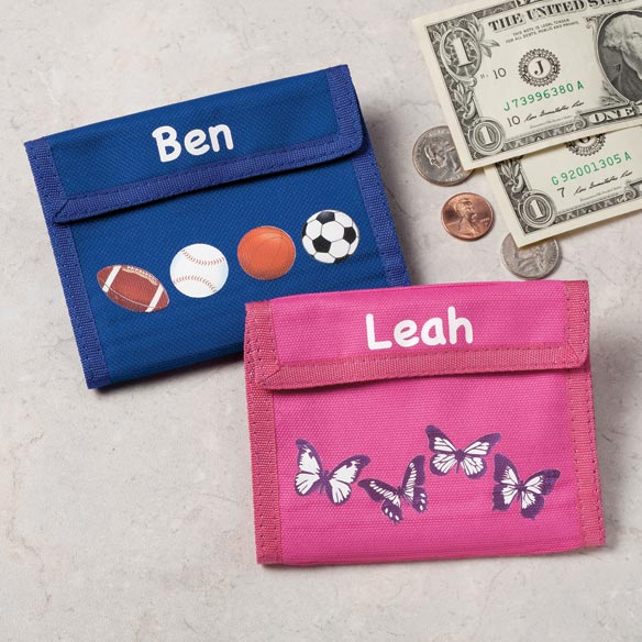 Personalized Children's Wallets - View 1
