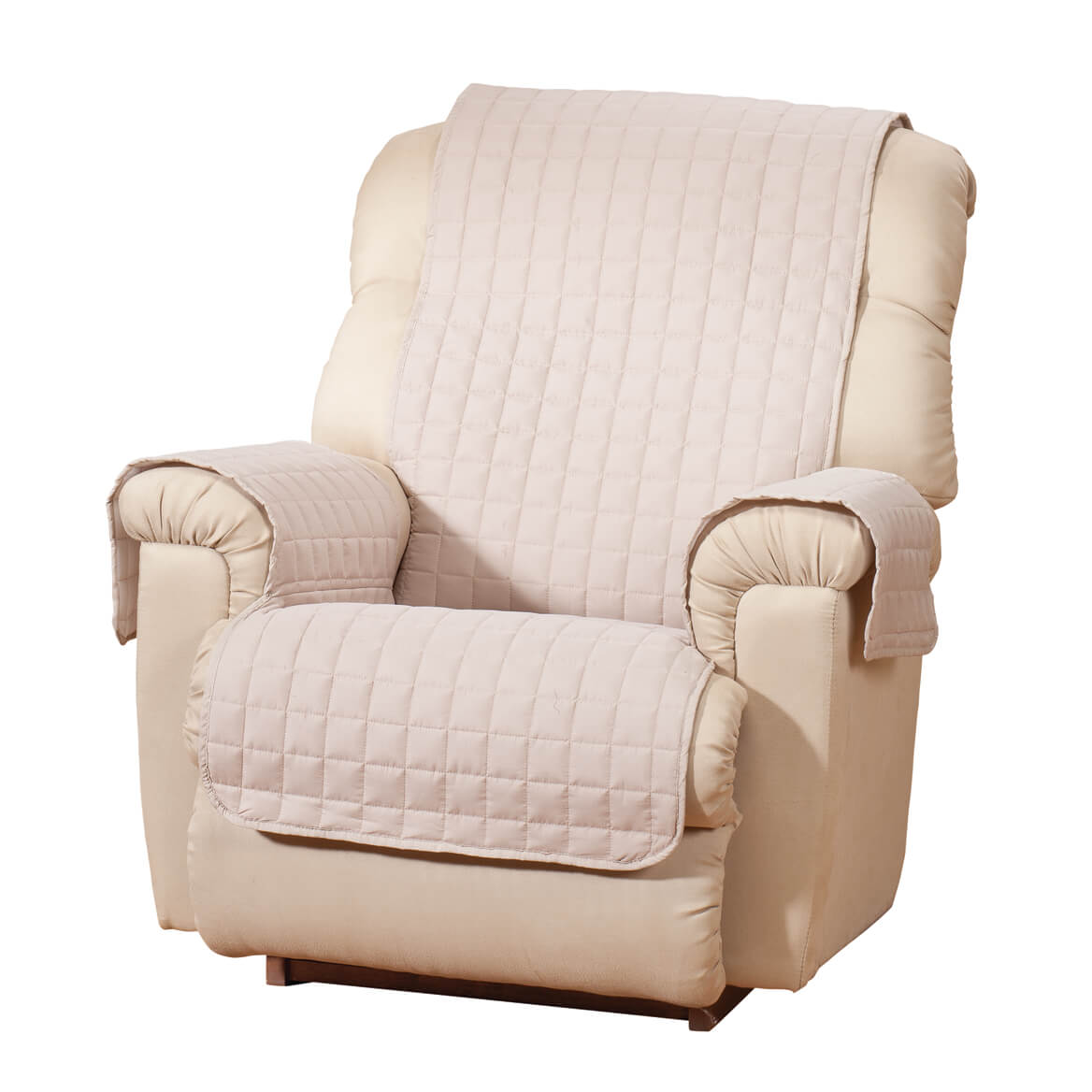 Microfiber Recliner Protector by OakRidge™ Comforts  sc 1 st  Miles Kimball & Microfiber Recliner Protector - Chair Protector - Miles Kimball islam-shia.org