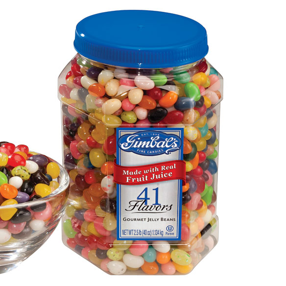 Gourmet Jelly Beans - 40 Oz. Jar - View 1