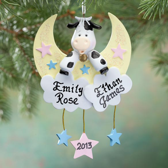 Personalized Twins Ornament