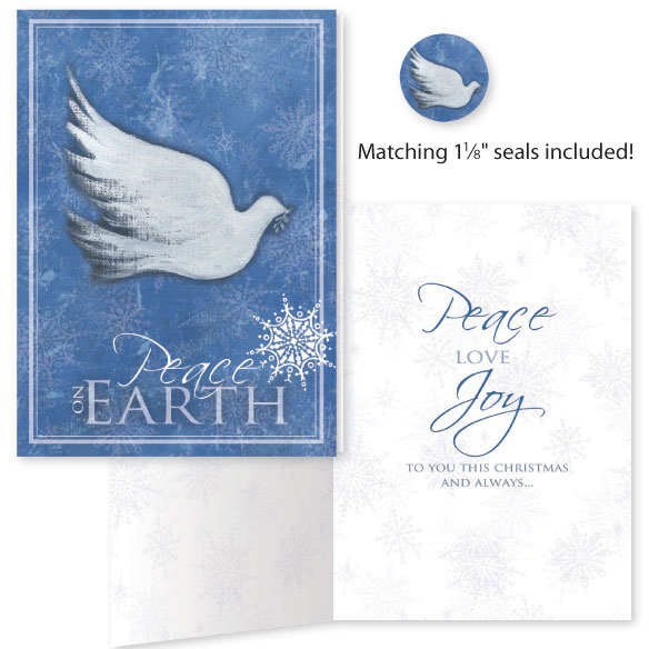 Peace On Earth Card Set of 20