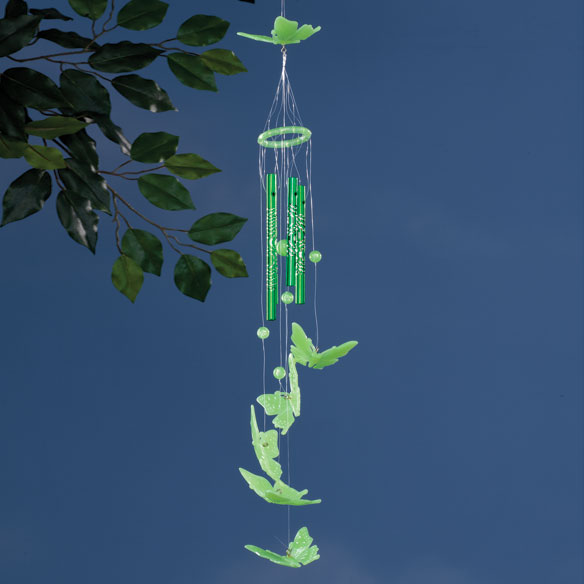 Glow-In-The-Dark Butterfly Wind chime