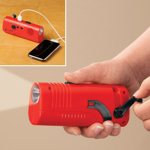 LivingSURE™ Emergency Flashlight Radio