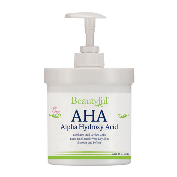 AHA Alpha Hydroxy Acid Cream - 16 oz.