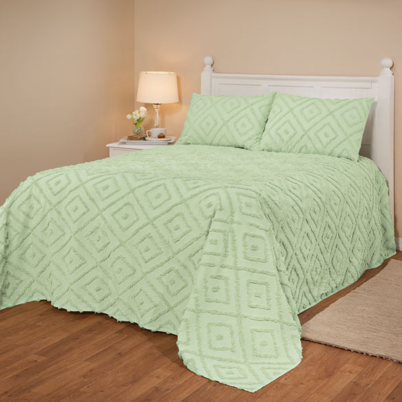 The Laura Chenille Bedspread - View 1