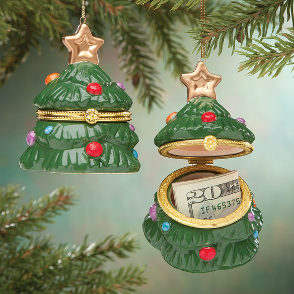 Christmas Tree Trinket Ornament
