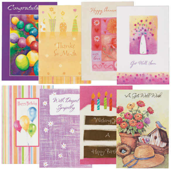 All Occasion Cards, Set of 24 - View 1