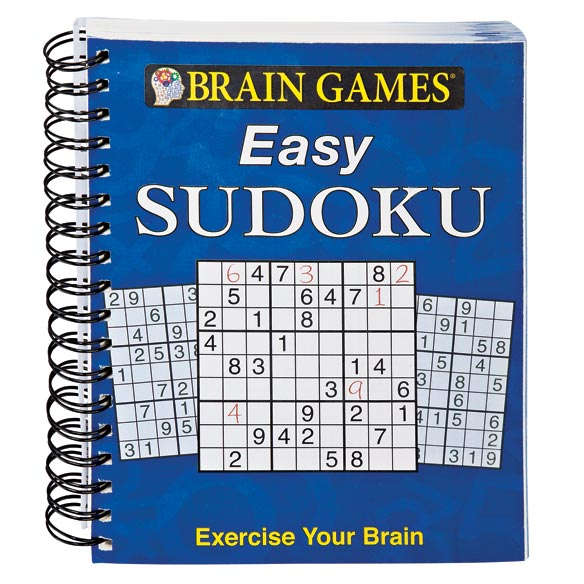 Brain Game Easy Sudoku Book