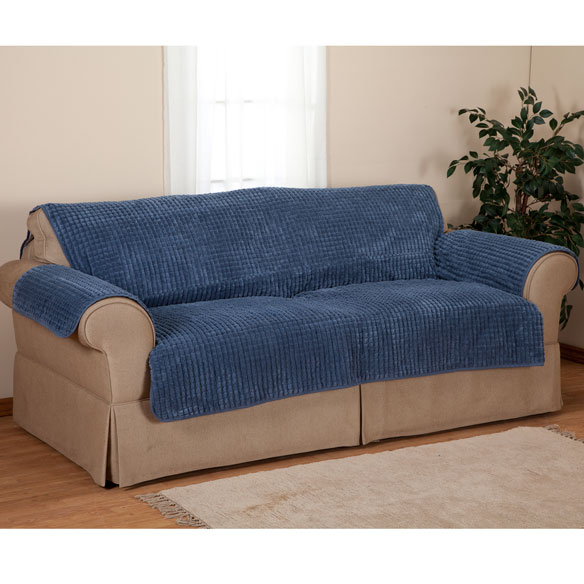 Chenille Loveseat Furniture Protector