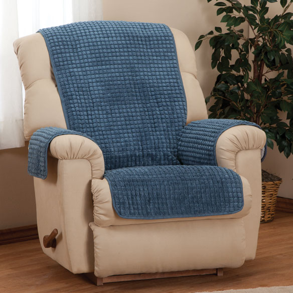Chenille Recliner Furniture Protector - View 1