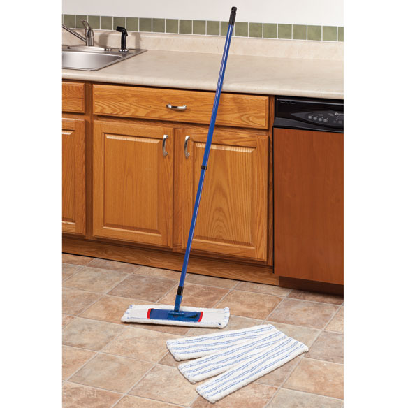 Collapsible Microfiber Mop Set