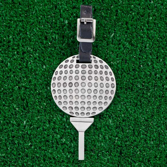 Personalized Golf Tee Bag Tag - View 1
