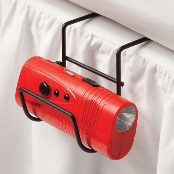 Bedside Emergency Flashlight Hook