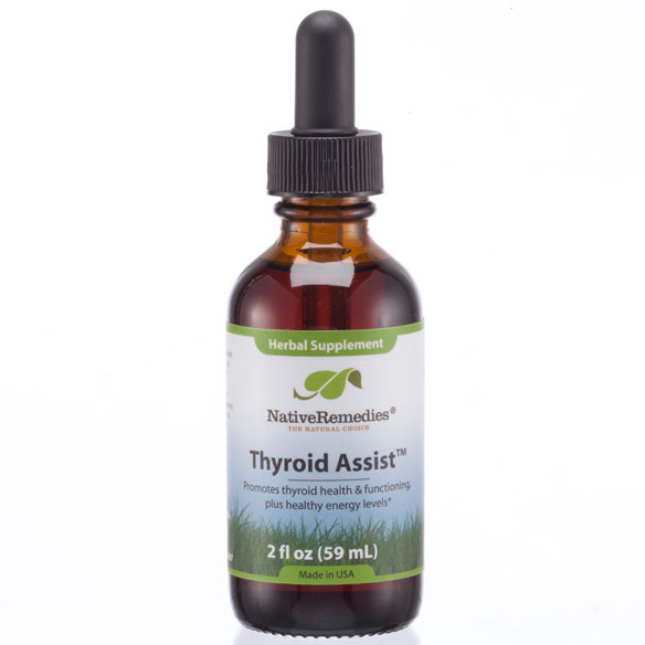 NativeRemedies® Thyroid Assist™ - 2 oz.