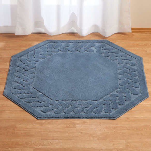 Chevron Kitchen Rug: Chevron Octagon Rug