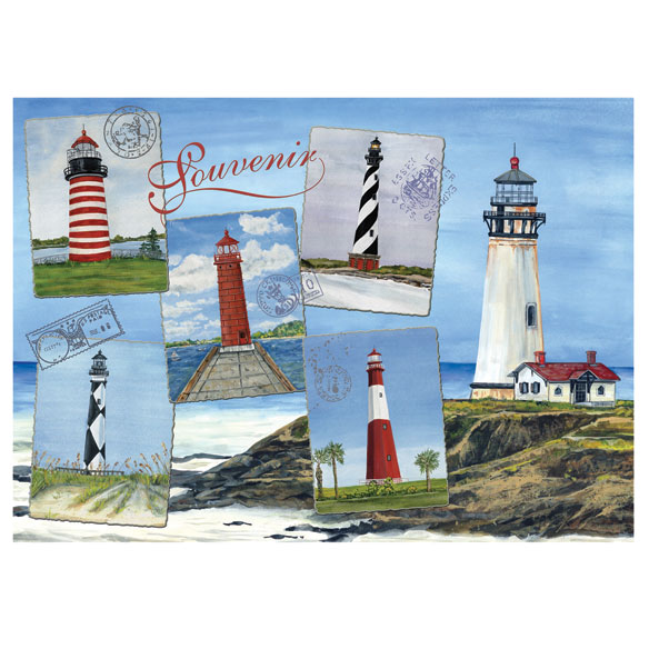 Lighthouses Jigsaw Puzzle - 750 Pieces