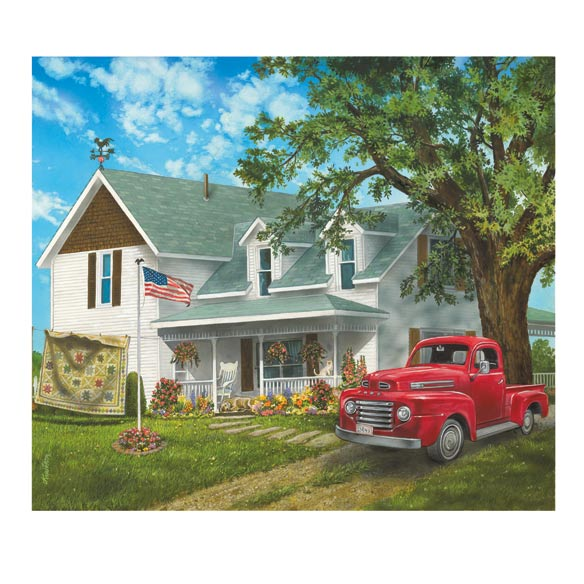 Americana Farmhouse Jigsaw Puzzle - 1000 Pieces