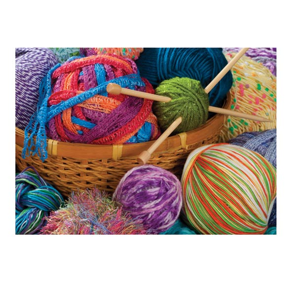 Yarn Bundles Jigsaw Puzzle - 1000 Pieces