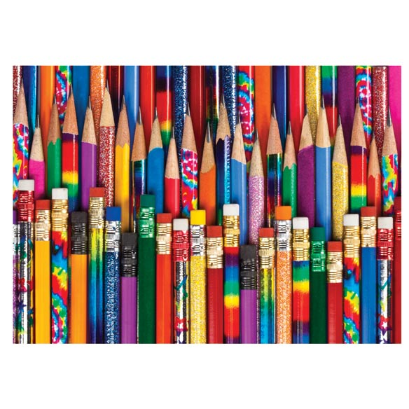 Pencil Collection Jigsaw Puzzle - 750 Pieces