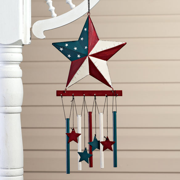 Barn Star Wind Chime by Maple Lane Creations