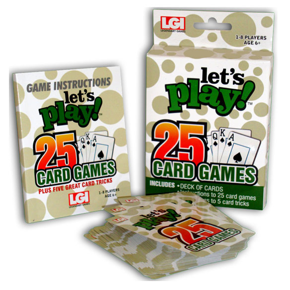 Let's Play™ 25 Card Games