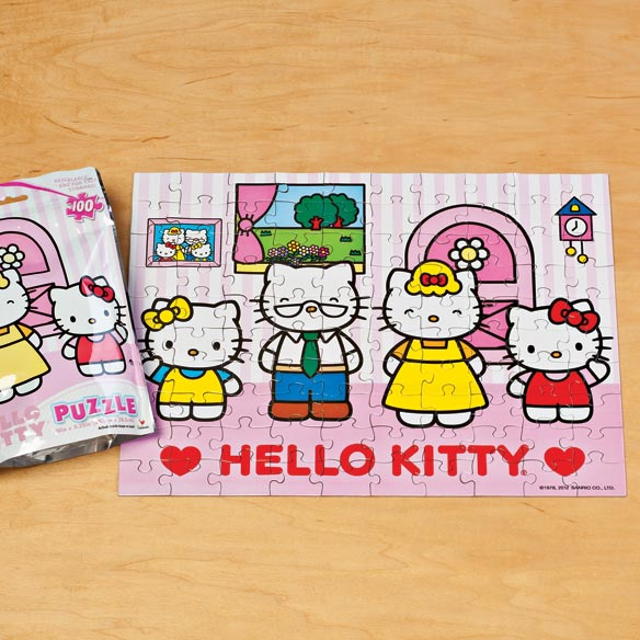 Hello Kitty® Foil Puzzle - 100 Pieces