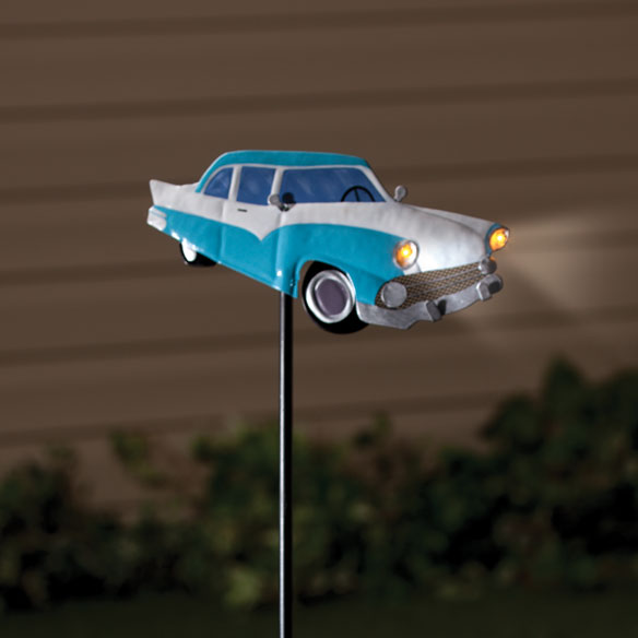 Classic Car Solar Stake by Maple Lane Creations
