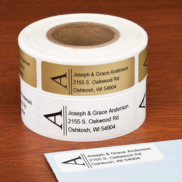 Bold Initial Address Labels, 250