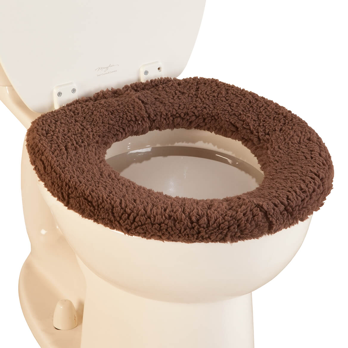 cushioned toilet seat covers. Sherpa Toilet Seat Cover by OakRidge  Comforts 351508 Padded And Lid Cushioned Miles Kimball