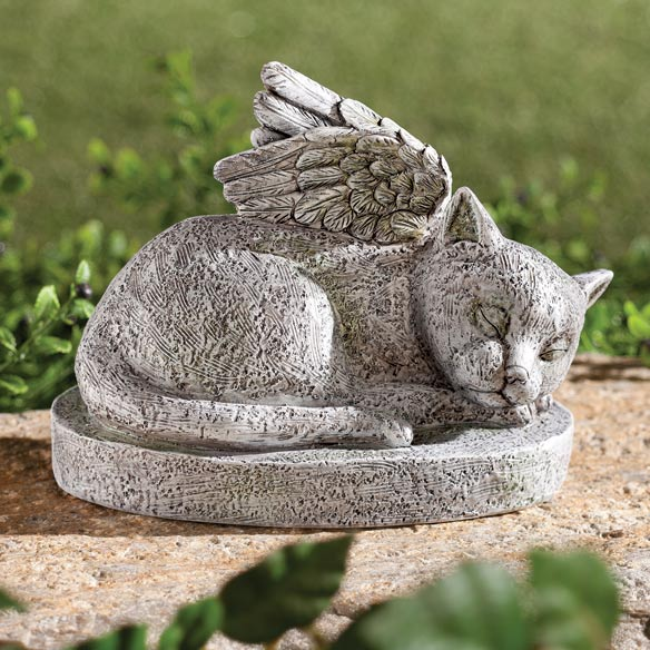 Resin Cat Memorial - View 1