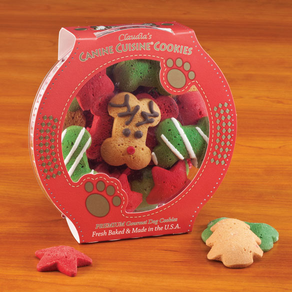 Reindeer Wonderland Dog Cookies