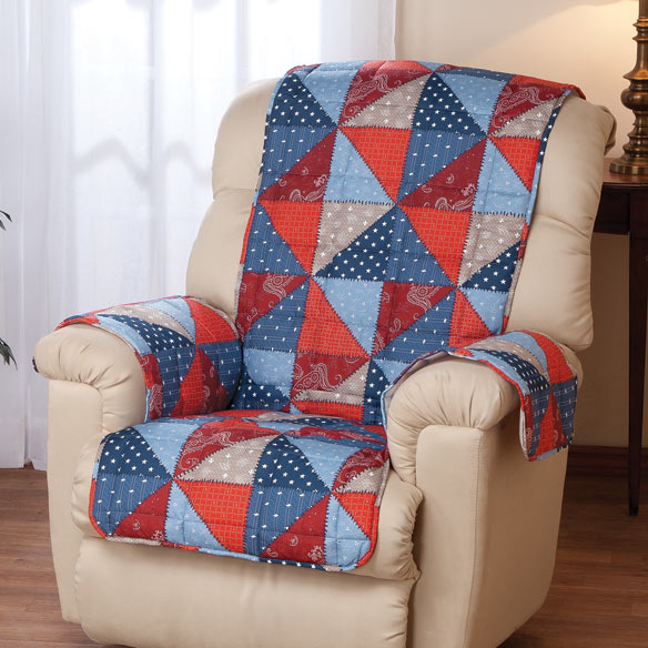 Americana Recliner and Chair Cover - View 1