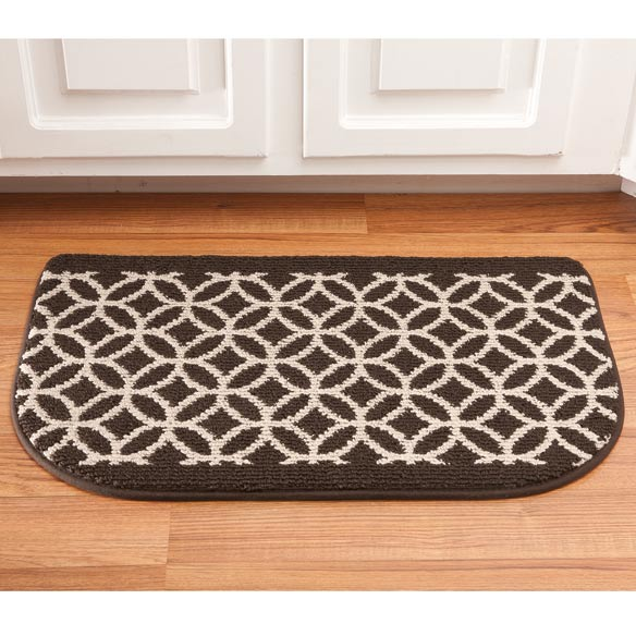 Memory Foam Wedding Ring Slice Rug