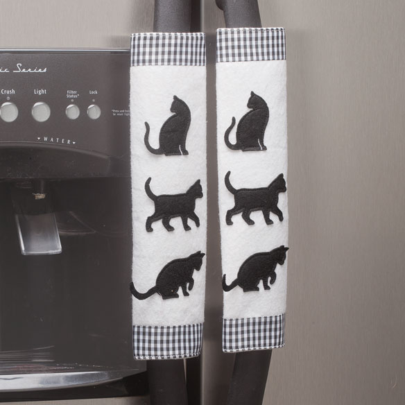 Cat Appliance Handle Covers - Set of 3