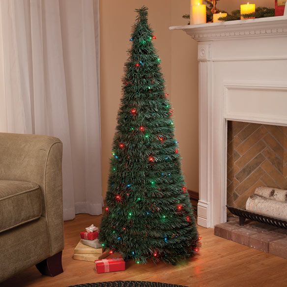 4-Ft. Pull-Up Tree with Multi-Function Lights
