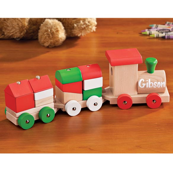 Personalized Children's Christmas Train