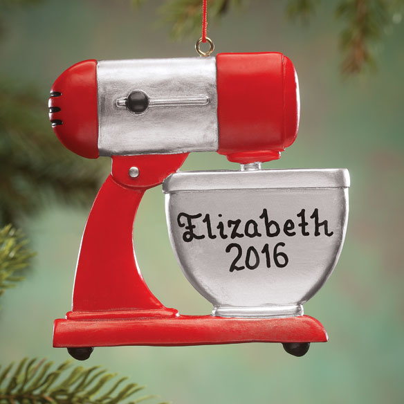 Personalized Mixer Ornament