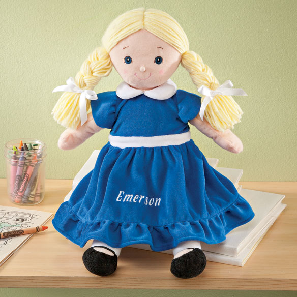 Personalized Birthstone Doll - View 1