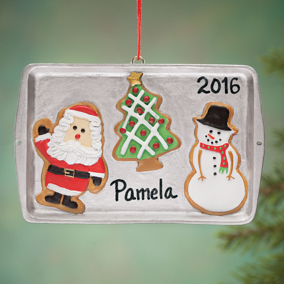 Personalized Cookie Sheet Ornament