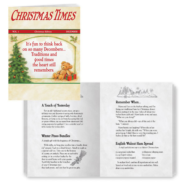 Christmas Times Cards - Set of 20 - View 1