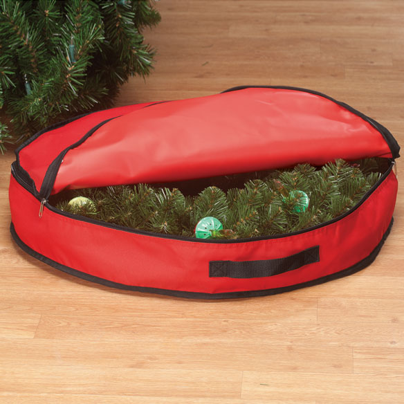 Christmas Wreath Storage Bag - View 1
