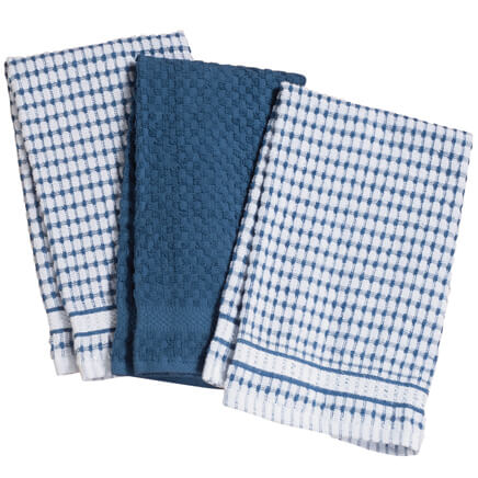 Terry Kitchen Towels   Set Of 3 353165