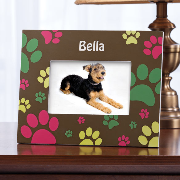 Personalized Paw Print Frame