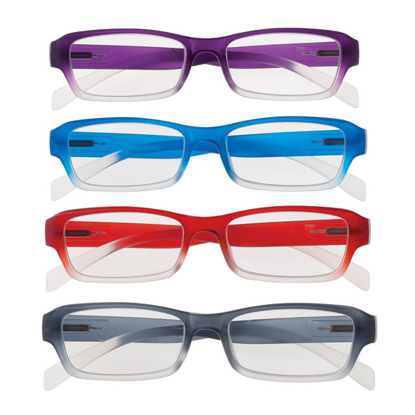 Colorful Ombré Readers with Spring Hinge